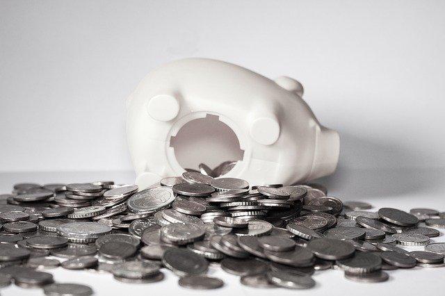 豚さんとコイン